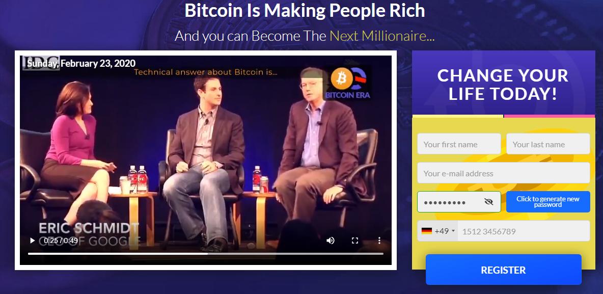 Bitcoin Era signup