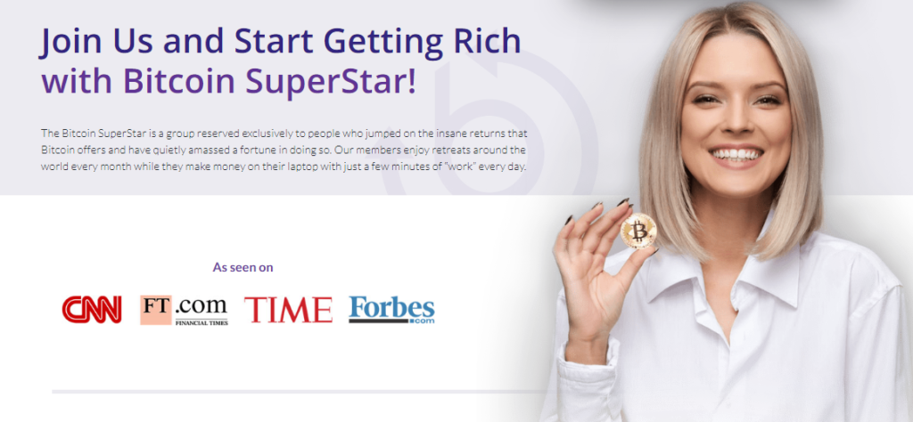 Bitcoin Superstar join us
