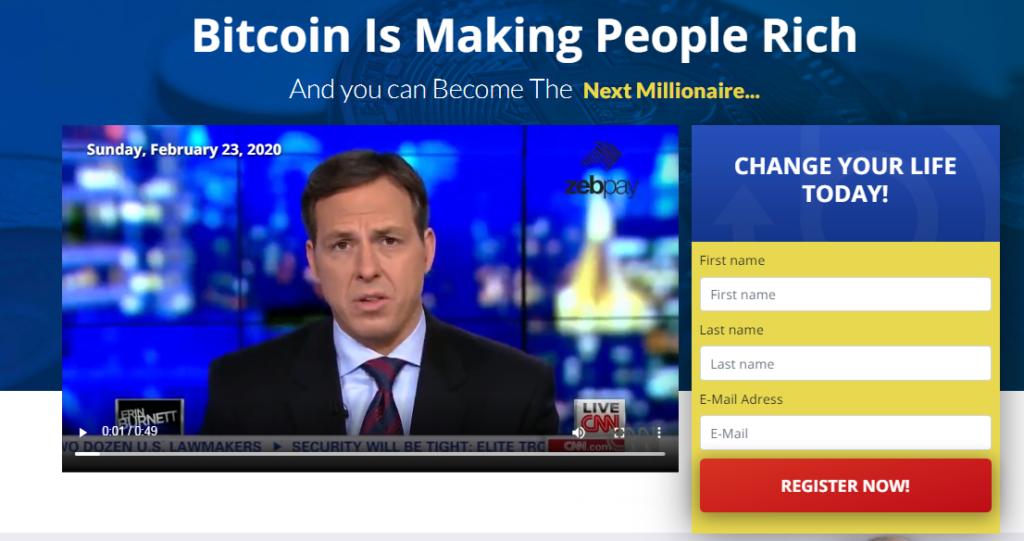 Bitcoin Superstar signup