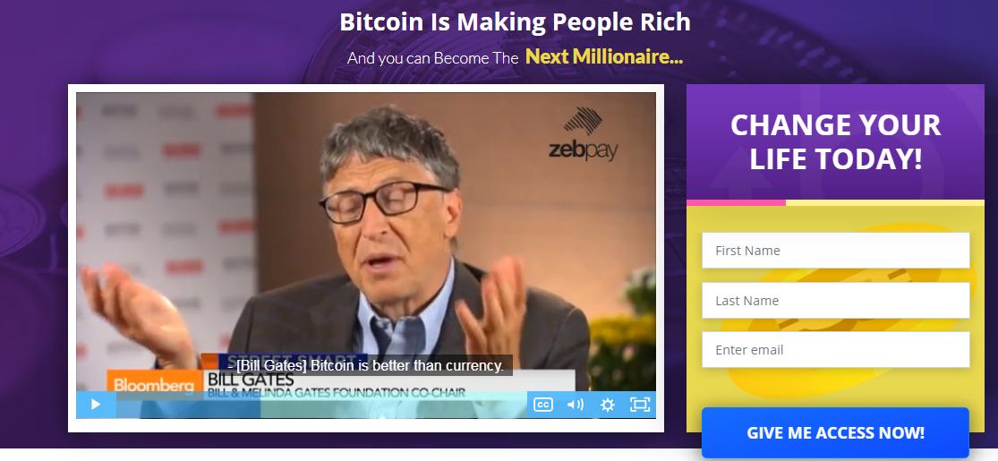 Bitcoin Future signup