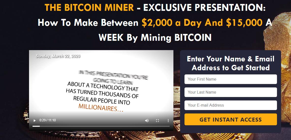 Bitcoin miner joinus