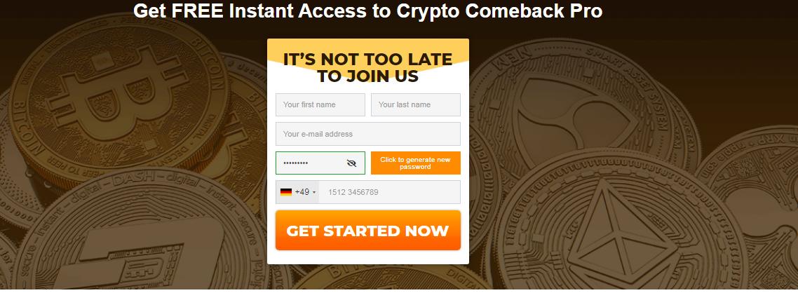 crypto comeback pro 1