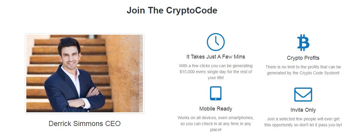 Crypto Code app